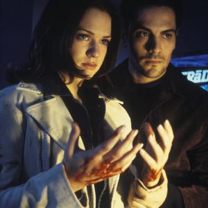 Still of AJ Cook and Michael Landes in Galutinis tikslas 2 2003