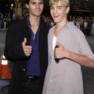 David Gallagher and Adam LaVorgna at event of Summer Catch (2001)