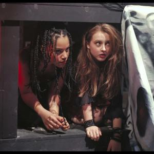 Still of Katharine Isabelle and Bianca Lawson in Bones (2001)