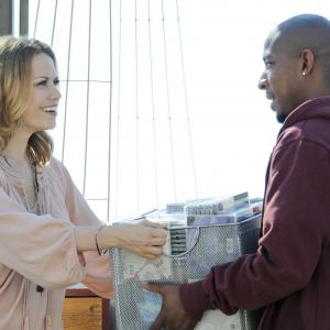 Still of Bethany Joy Lenz and Antwon Tanner in One Tree Hill (2003)