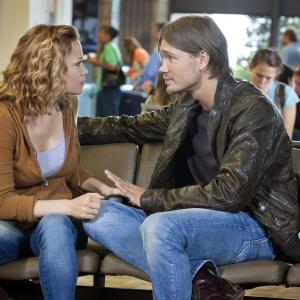 Still of Bethany Joy Lenz and Chad Michael Murray in One Tree Hill (2003)
