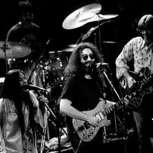 Jerry Garcia, Donna Godchaux, Mickey Hart, Phil Lesh