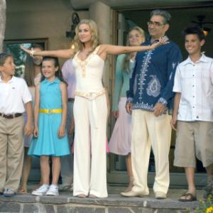 Still of Carmen Electra and Eugene Levy in Cheaper by the Dozen 2 2005