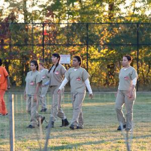 Still of Selenis Leyva, Jessica Pimentel, Jackie Cruz and Diane Guerrero in Orange Is the New Black (2013)