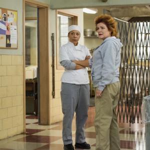 Still of Kate Mulgrew and Selenis Leyva in Orange Is the New Black (2013)