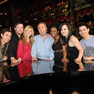 Andrew Lloyd Webber, Syesha Mercado, David Cook, Brooke White, David Archuleta, Jason Castro