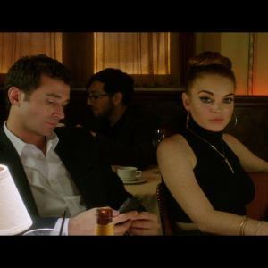 Still of Lindsay Lohan and James Deen in The Canyons (2013)