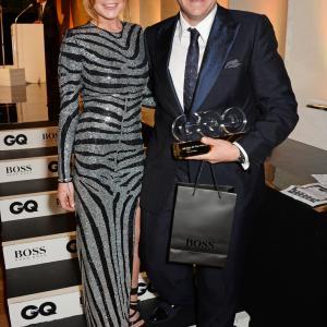 Tom Kerridge and Lindsay Lohan