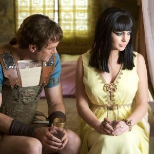 Still of Grant Bowler and Lindsay Lohan in Liz & Dick (2012)