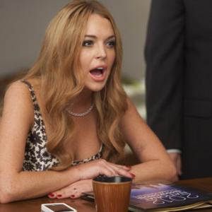 Still of Lindsay Lohan in Glee (2009)