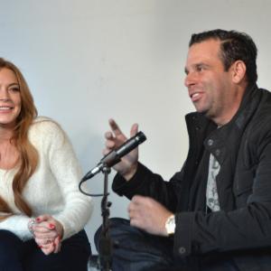 Randall Emmett and Lindsay Lohan