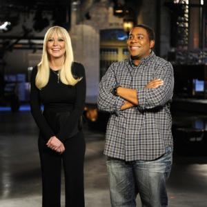 Still of Lindsay Lohan and Kenan Thompson in Saturday Night Live (1975)