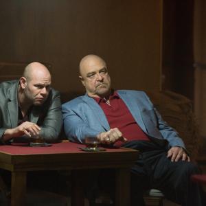 Still of John Goodman and Domenick Lombardozzi in The Gambler (2014)