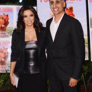 Eva Longoria and Sanjay Rawal at event of Food Chains (2014)