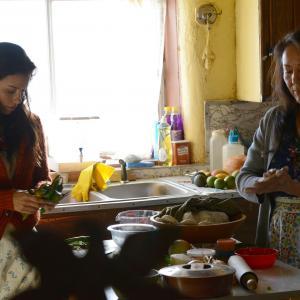 Still of Eva Longoria and Monica Sanchez in Frontera (2014)