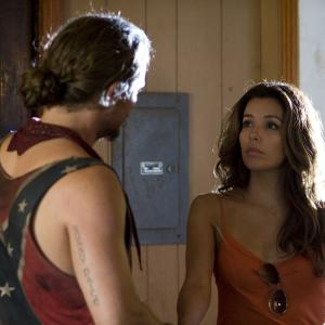 Still of Clayne Crawford and Eva Longoria in The Baytown Outlaws (2012)