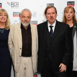 Timothy Spall, Mike Leigh, Dorothy Atkinson, Georgina Lowe, Martin Savage, Ruth Sheen