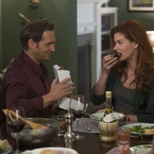 Debra Messing, Josh Lucas