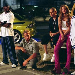 Still of Ludacris Tyrese Gibson Paul Walker Devon Aoki and Jin Auyeung in Greiti ir Isiute 2 2003