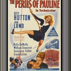 Betty Hutton and John Lund in The Perils of Pauline (1947)
