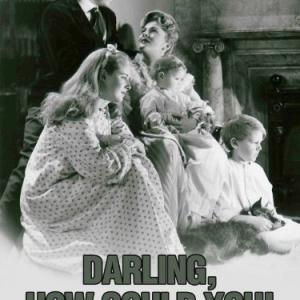 Joan Fontaine and John Lund in Darling, How Could You! (1951)