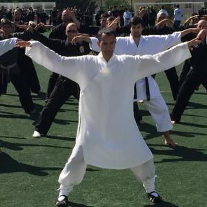 Teaching over 700 students Wudang Tai Chi and my family style of Kung Fu Ling Gar in Lisbon, Portugal