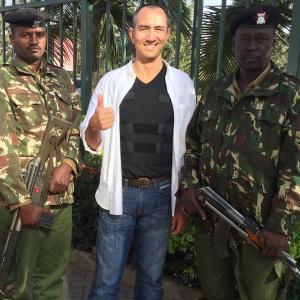 On the job in Nairobi, Kenya