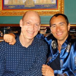 Here with dear friend and Carnegie Hall collaborator 2015 Grammy Award Winner Wouter Kellerman