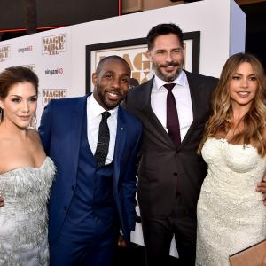 Sofía Vergara, Joe Manganiello, Allison Holker