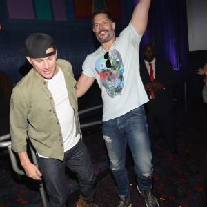 Joe Manganiello, Channing Tatum