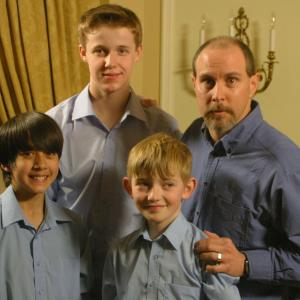 With some of the boys from LIBERA in Toronto in 2011