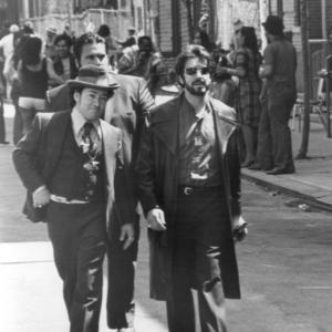 Daniel Margotta appearing alongside Al Pacino in the 1993 crime drama Carlitos Way