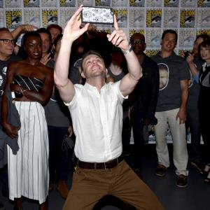 Gale Anne Hurd, Chris Hardwick, Lennie James, Melissa McBride, Greg Nicotero, Danai Gurira