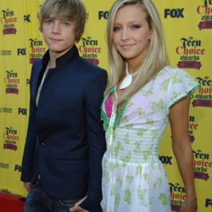 Jesse McCartney and Katie Cassidy