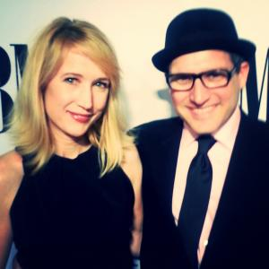 Kris McGaha and composer Eban Schletter The 2014 BMI Film and Television Awards held May 14 2014 at the Beverly Wilshire Hotel in Beverly Hills