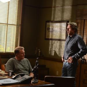 Still of Michael McGrady and Robert Taylor in Longmire 2012