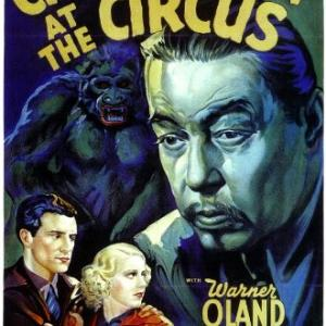 Shirley Deane John McGuire and Warner Oland in Charlie Chan at the Circus 1936