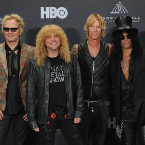 Steven Adler, Duff McKagan, Slash, Matt Sorum