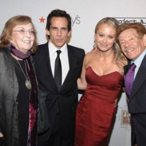 Ben Stiller, Jerry Stiller, Anne Meara, Christine Taylor