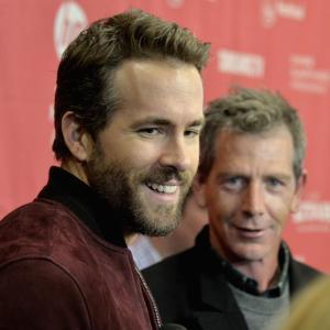 Ryan Reynolds and Ben Mendelsohn at event of Mississippi Grind 2015