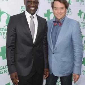 Peter Mensah and Michael Sullivan
