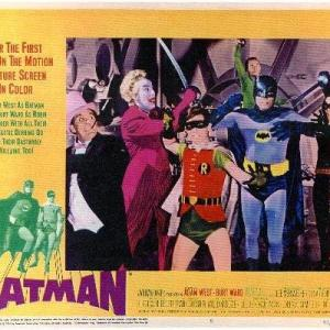 Adam West, Cesar Romero, Burgess Meredith, Lee Meriwether, Burt Ward