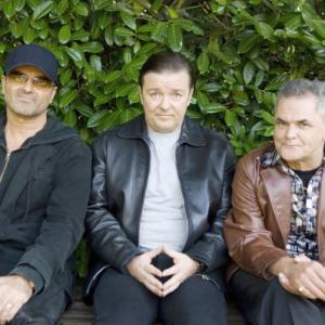 Gerard Kelly, Ricky Gervais, George Michael