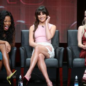 Lea Michele, Emma Roberts and Keke Palmer at event of Scream Queens (2015)