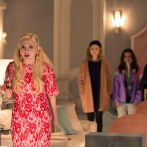 Still of Lea Michele, Abigail Breslin, Skyler Samuels and Keke Palmer in Scream Queens (2015)