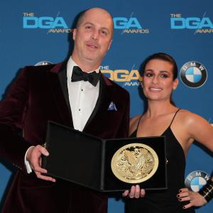 Jonathan Judge and Lea Michele