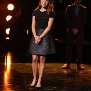Still of Lea Michele in Glee (2009)
