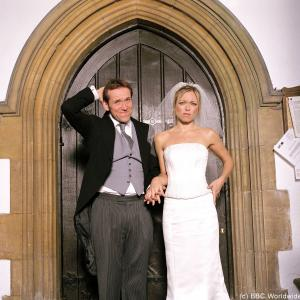 Still of Sarah Alexander and Ben Miller in The Worst Week of My Life 2004