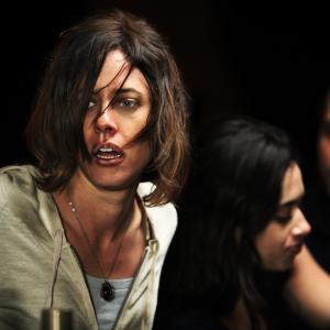 Still of Katherine Moennig in Default (2014)