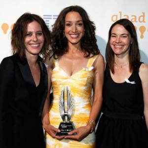 Jennifer Beals, Leisha Hailey and Katherine Moennig